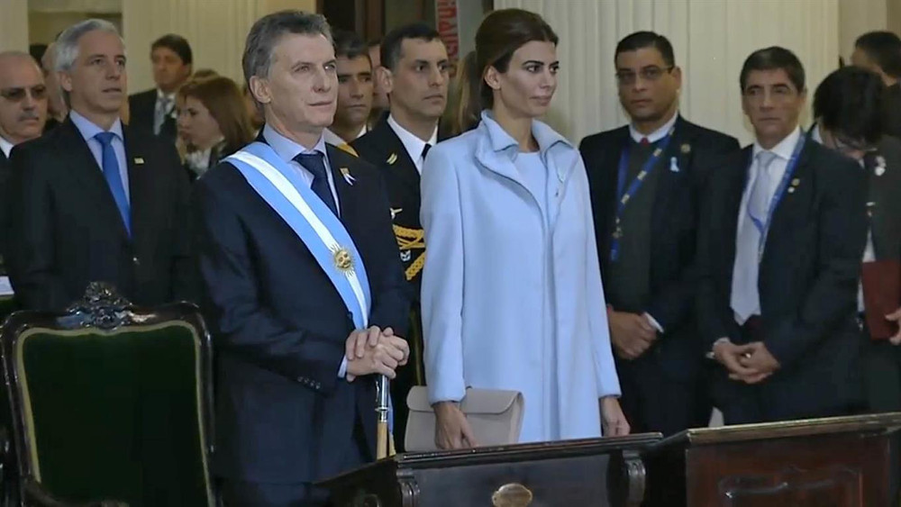 Mauricio Macri participa del Tédeum del Bicentenario   Foto: Presidencia
